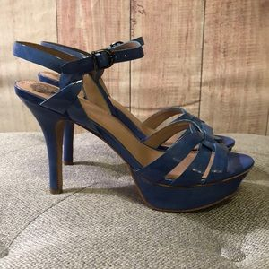Vince Camuto Shoes - Vince Camuto Toleo heels. Blue. Size 8 1/2.